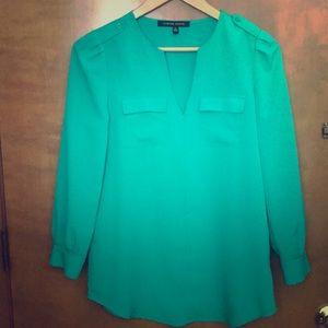 Cynthia Steffe XS green blouse